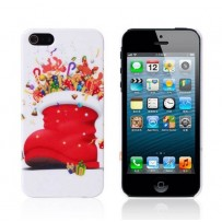 "Новогодний чехол ""Сапожок"" для iPhone 5/5S"
