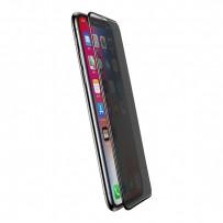 "Стекло защитное ""Антишпион"" 3D для iPhone XS MAX"