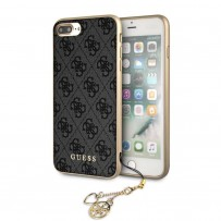 Чехол Guess для iPhone 7+/8 Plus 4G Charms collection Hard Grey