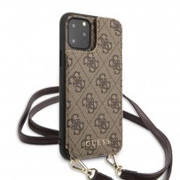Чехол-бандольер Guess для iPhone 11 Pro, коричневый (GUHCN58CB4GB)