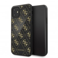 Чехол Guess, для iPhone 11 (GUHCN614GGPBK)