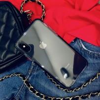 """Чехол """"Фруктовый лед"""" для iPhone XS Max, черный"""