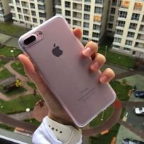 Чехол силиконовый для iPhone 7 Plus (5.5), прозрачный