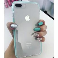 "Чехол ""Фруктовый лед"" для iPhone 7/8 Plus, мятный"