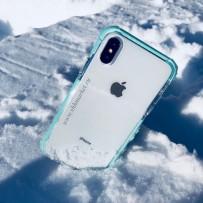 """Чехол """"Фруктовый лед"""" для iPhone XS/ X (5.8), мятный"""