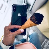 """Чехол """"Фруктовый лед"""" для iPhone XS/ X (5.8), черный"""