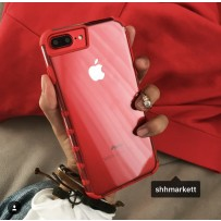 """Чехол """"Gurdini"""" противоударный для iPhone 7/8 Plus, красный"""