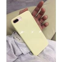 """Чехол """"Глянец"""" для iPhone 7 PLUS, желтый"""