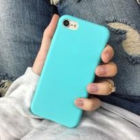 Чехол-накладка iPhone 7, Soft Touch, Тиффани