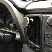 """Автомобильный держатель для вентиляционной решетки """"Vent Mount"""" магнитный универсальный, шампань"""