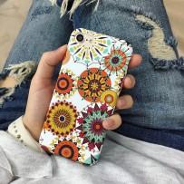 Чехол-накладка iPhone 7, Soft Touch, Узоры