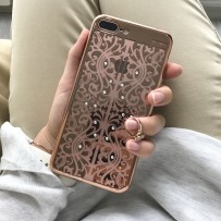 Чехол Beckberg для iPhone 7 PLUS, шампань, стиль 6