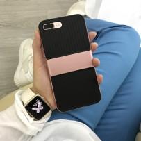 Чехол Baseus Travel Case противоударный для iPhone 7 Plus (5.5), розовый