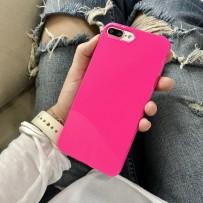 """Чехол """"Глянец"""" для iPhone 7, фуксия"""