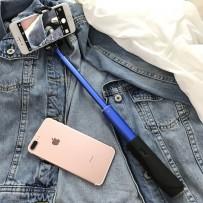 "Монопод ""Selfie Stick"" (Bluetooth), All in one, синий"