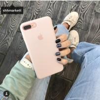Чехол-накладка силиконовый Apple Silicone Case для iPhone 7/8 Розовый песок под оригинал