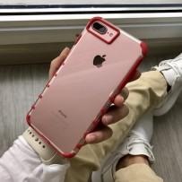 """Чехол """"Gurdini"""" противоударный для iPhone 7, красный"""