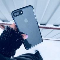 """Чехол """"Фруктовый лед"""" для iPhone 7/8 Plus, черный"""