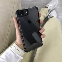 """Чехол """"Gurdini"""" противоударный для iPhone 7/8 PLUS, черный"""