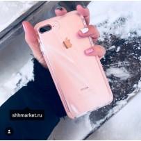 """Чехол """"Фруктовый лед"""" для iPhone 7/8 Plus, персиковый"""