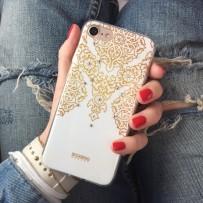 Накладка силиконовая Beckberg Exotic series для iPhone 7 (4.7) со стразами Swarovski вид 12