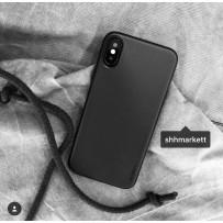 Чехол ультратонкий Memumi, 0,3мм для iPhone XS/ X, черный матовый