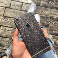 """Защитная, противоскользящая пленка """"Magic sticker"""" для iPhone 6/6s, черный"""