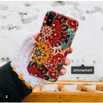 Чехол для iPhone XS/ X (5.8), Beckberg, стиль 1