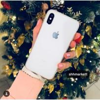 "Чехол ""Ultra Slim"" для iPhone XS/ X (5.8), с вырезом для яблока, прозрачный"