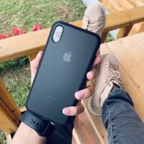 """Противоударный чехол """"Фруктовый лед"""" для iPhone XS MAX, черный, матовый"""