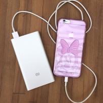 Аккумулятор внешний универсальный Xiaomi Mi Power Bank Slim 5000 mAh (USB выход: 5V 2A) NDY-02-AM Silver ORIGINAL