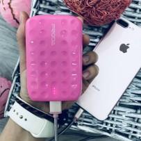 Аккумулятор внешний универсальный Remax PPL 3- 10000 mAh Lovely power bank (USB: 5V-1.5A) Pink Розовый