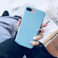 Чехол-накладка силиконовый COTEetCI Silicone Case для iPhone 7 Plus (5.5) CS7018-GN Изумрудный