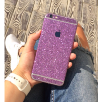 """Защитная, противоскользящая пленка """"Magic sticker"""" для iPhone 6/6s, фиолетовый"""