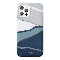 Чехол Uniq для iPhone 12 Pro Max (6.7) чехол COEHL Ciel Blue