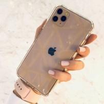 Противоударный чехол-лёд для iPhone 11 Pro, кристально-прозрачный