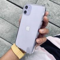 Противоударный чехол-лёд для iPhone 11, кристально-прозрачный