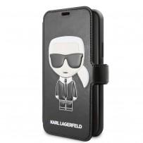 Чехол KARL Lagerfeld, для iPhone 11 Pro (KLFLBKSN58FIKPUBK)