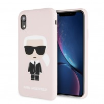 Чехол Karl Lagerfeld для iPhone XR (KLHCI61SLFKPI)