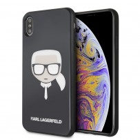 Чехол Karl Lagerfeld для iPhone XS Max (KLHCI65DLHBK)