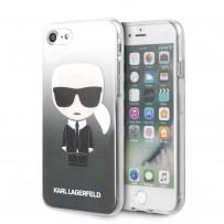 Чехол Karl Lagerfeld для iPhone 7/8/SE 2020 TPU collection Choupette Sunglasses Hard Black