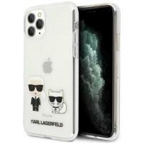 Чехол KARL Lagerfeld для iPhone 11 Pro чехол PC/TPU collection Karl Iconik & Choupette Hard Transp (KLHCN58CKTR)