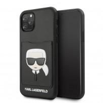 Чехол KARL Lagerfeld, для iPhone 11 Pro (KLHCN58CSKCBK)