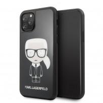 Чехол KARL Lagerfeld, для iPhone 11 Pro (KLHCN58DLFKBK)