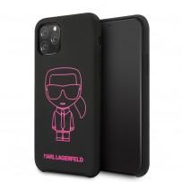 Чехол KARL Lagerfeld, для iPhone 11 Pro (KLHCN58SILFLPBK)