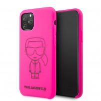 Чехол KARL Lagerfeld, для iPhone 11 Pro (KLHCN58SILFLPI)
