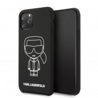 Чехол KARL Lagerfeld, для iPhone 11 Pro (KLHCN58SILFLWBK)