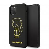 Чехол KARL Lagerfeld, для iPhone 11 Pro (KLHCN58SILFLYBK)