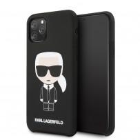 Чехол KARL Lagerfeld, для iPhone 11 Pro (KLHCN58SLFKBK)