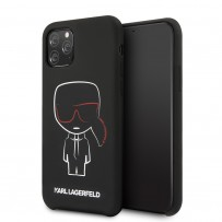 Чехол KARL Lagerfeld, для iPhone 11 Pro (KLHCN58SLKCBK)